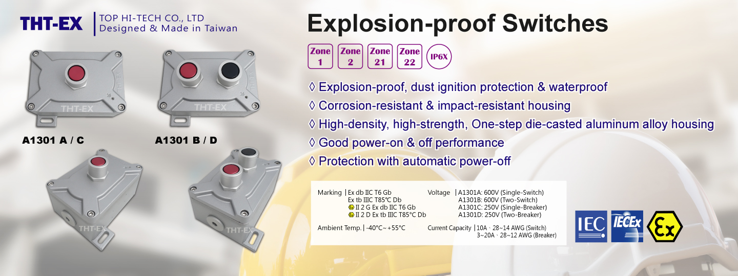 Explosion-proof Switches A1301