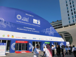 The Second Day of ADIPEC 2019!