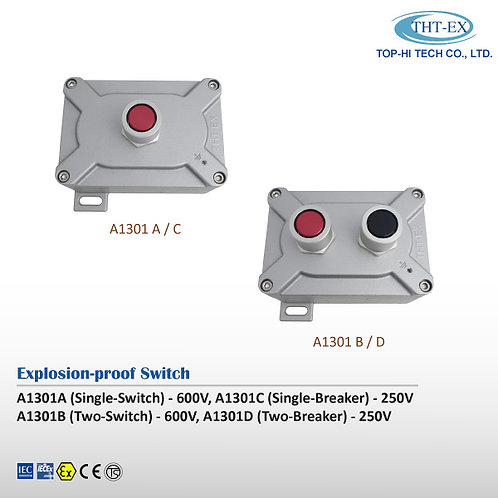 Explosion-proof Switch A1301 A/B/C/D (use with PLC)