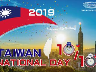2019.10.10 Happy Birthday to Taiwan!!