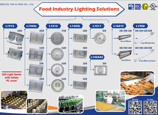 Food Industry Lighting Solutions (10W~500W)