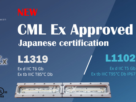 Model No. L1102 and L1319 were granted CML approval