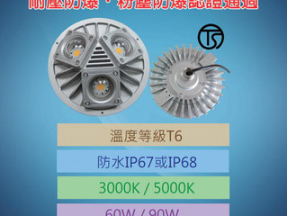 THT-EX explosion-proof wide-angle lights was granted TS explosion-proof d type and dust-proof certif