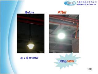 Sen-Pa power plant Lighting installation