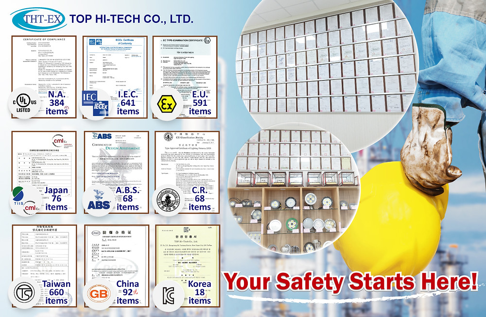 explosion proof certificaitons