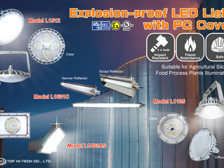 The Advantages of Explosion-proof LED Lighting with PC Cover!