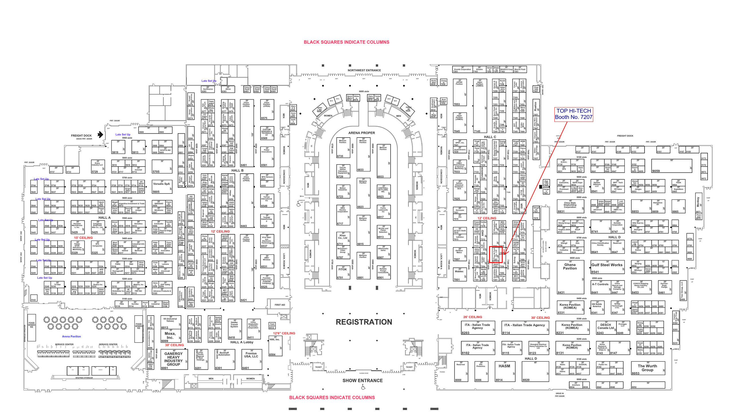 THT-EX_OTC 2019 Floor plan
