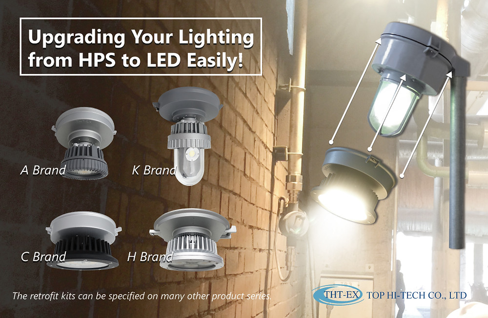 upgrading your lighting from HPS to LED easily