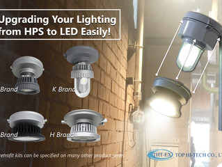 Upgrading Your Lighting from HPS to LED Lighting Easily!