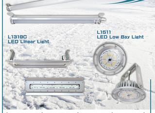 低溫環境的LED照明解決方案! (可耐低溫-65°C)