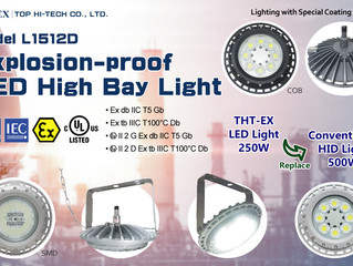 New Product! Economical & High Power Explosion-proof LED High Bay Light Model L1512D
