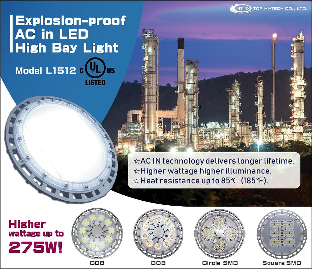 Explosion-proof LED High Bay Lighting Model L1512