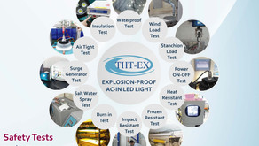 Various Safety Tests for THT-EX Explosion-proof Lights!