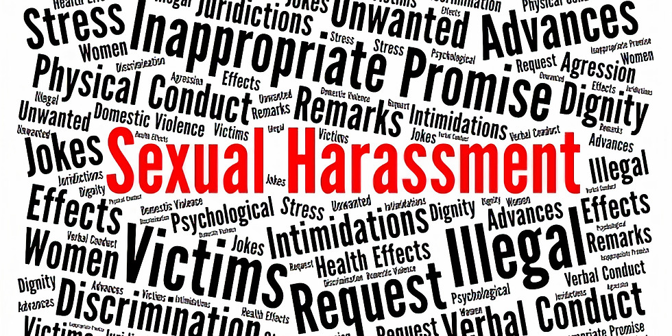 Sexual Harassment at Workplace - Webinar