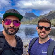Cradle Mountain on our Tassie mini-break, early 2019