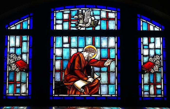 St Luke the Evangelist sancturary window