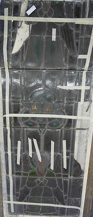 refurbished church window