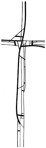 DomCat Contemporary Cross Design