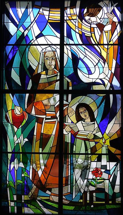 Adoration Day Chapel religoius window