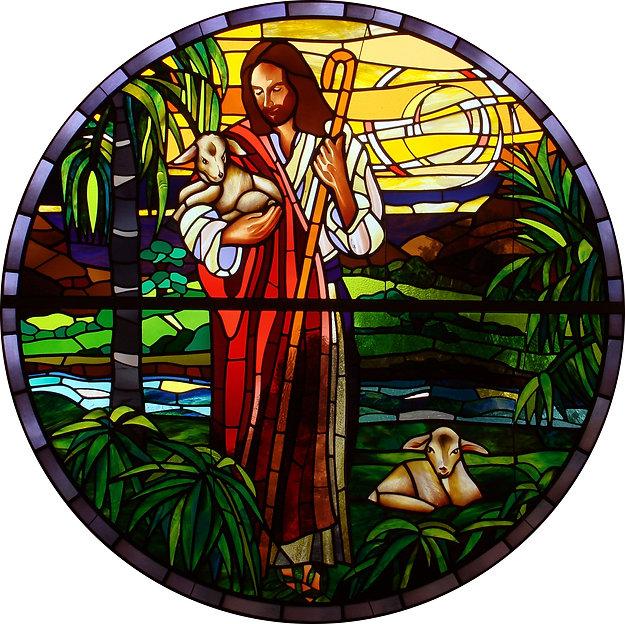 The Good Shepherd Rose Window