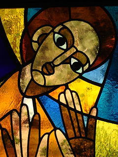 catholic religous window