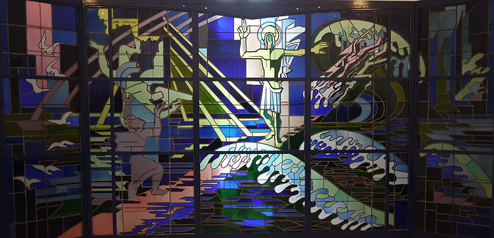 historic preservation of stained glass