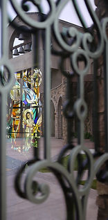 Adoration Day Chapel religious window