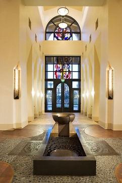 baptismal font window