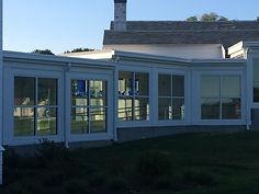 Memorial Hallway Art Glass