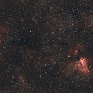 Eagle and Omega Nebulae