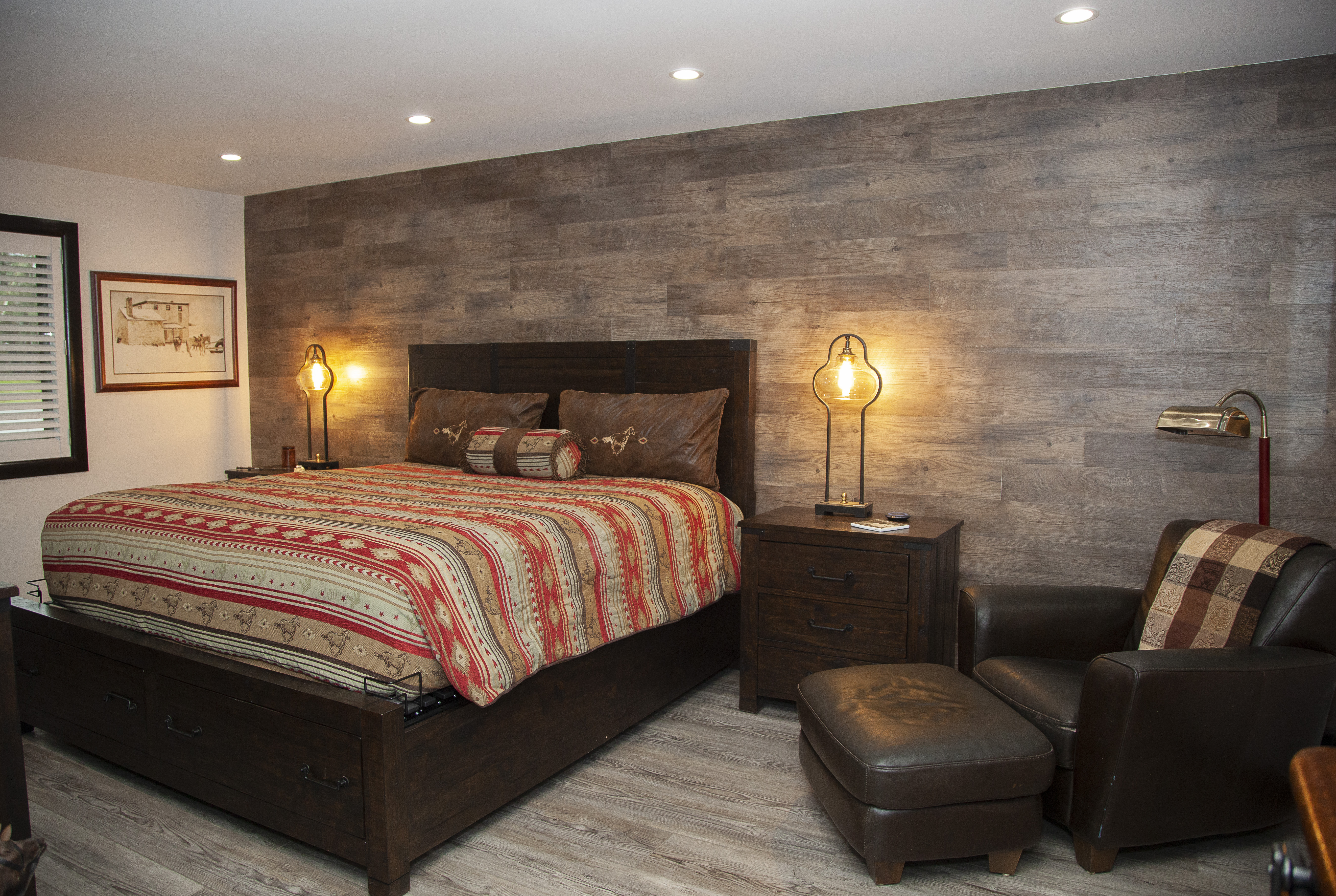 Accent Wall for Master Bedroom