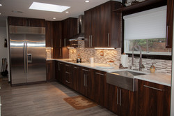 Open modern sleek kitchen