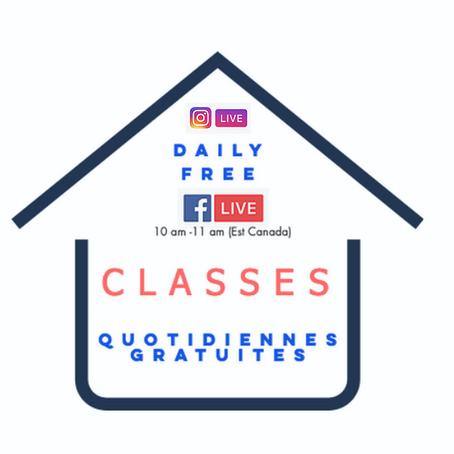 44 Classes gratuites