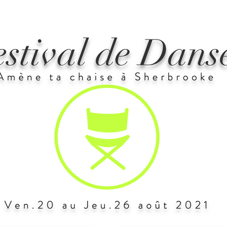 Festival de danse amène ta chaise à Sherbrooke