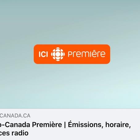 Entretien de Nicolas Zemmour avec Anik Moulin Radio Canada Estrie