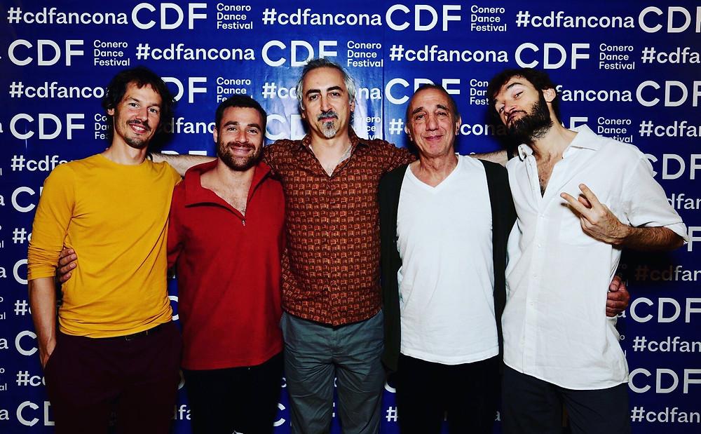 Photo des Maestri du Stage CDF ancona