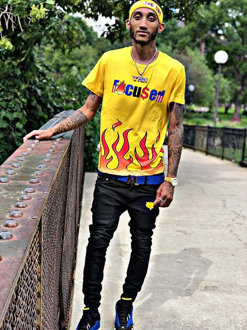Flame T-shirt & Headband