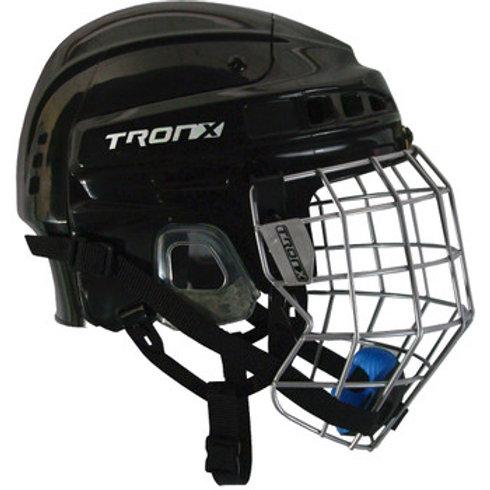 TronX Comp Hockey Helmet Combo
