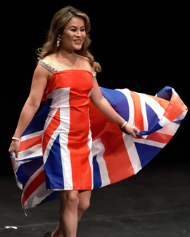 Mrs Divine UK Beauty Pageant / National Wear