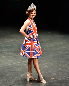 Junior Miss Divine UK Beauty Pageant / National Wear