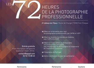 Les 72h de la photographie professionnelle !