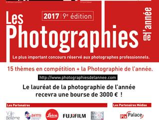 Les finalistes des Photographies de l'année dévoilés !
