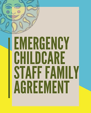 Emergency Childcare Staff Family Agreeme
