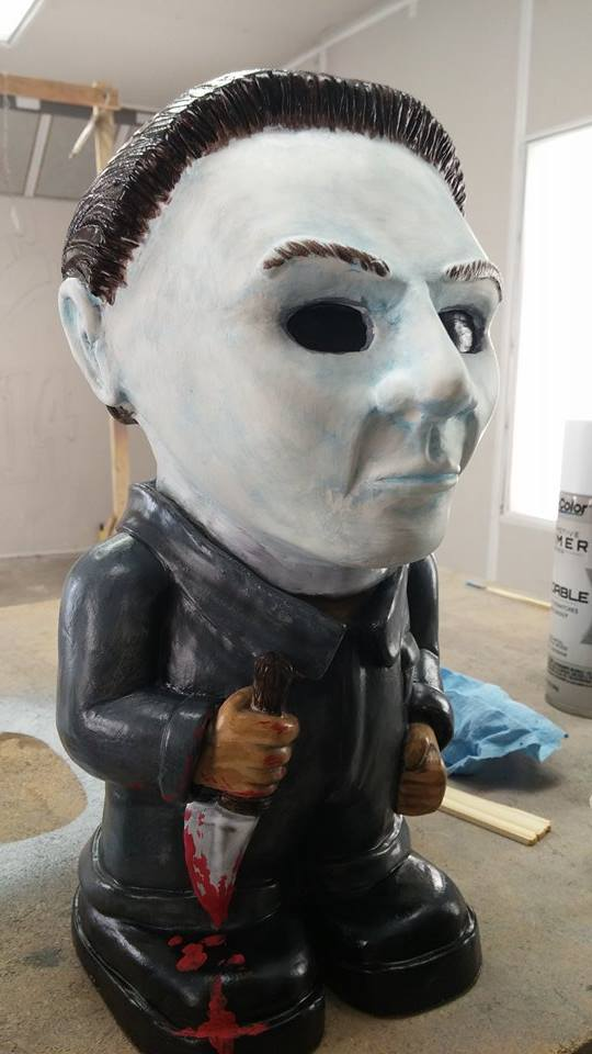 Michael Meyers Garden Gnome