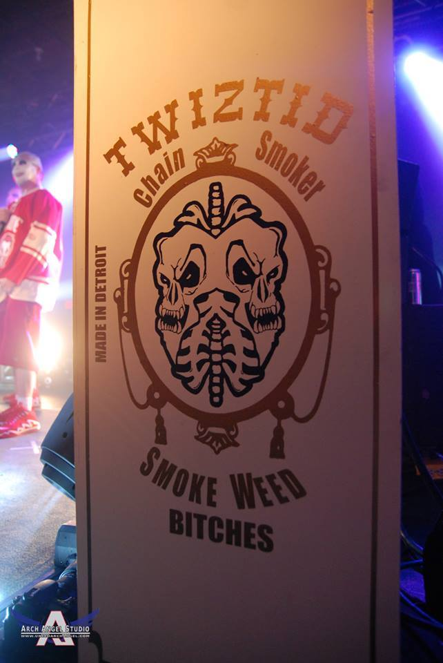 Twiztid Stage Set