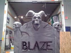 Custom Headstone