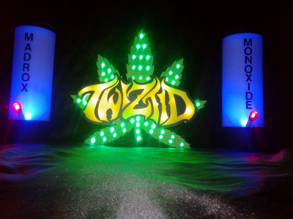 Twiztid Pot Leaf Stage Design