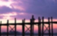 U Bein Bridge Sunrise