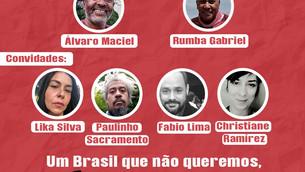 Um Brasil que não queremos, sem arte não dá!