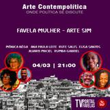 Favela Mulher - Arte Sim